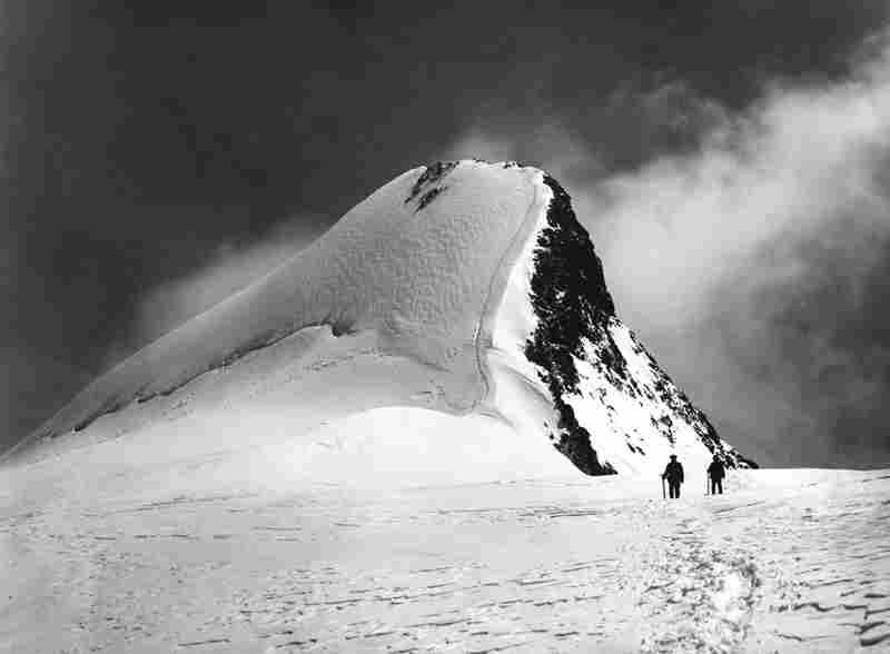 Highest peak of the Rouies as seen from the Cardon Glacier, Aug. 3, 1888