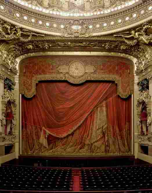 Curtain, Palais Garnier, Paris, France, 2009