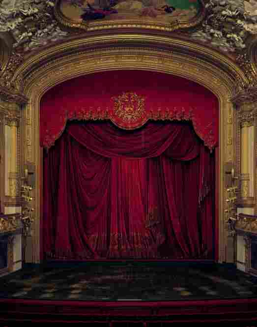 Curtain, Royal Swedish Opera, Stockholm, Sweden, 2008