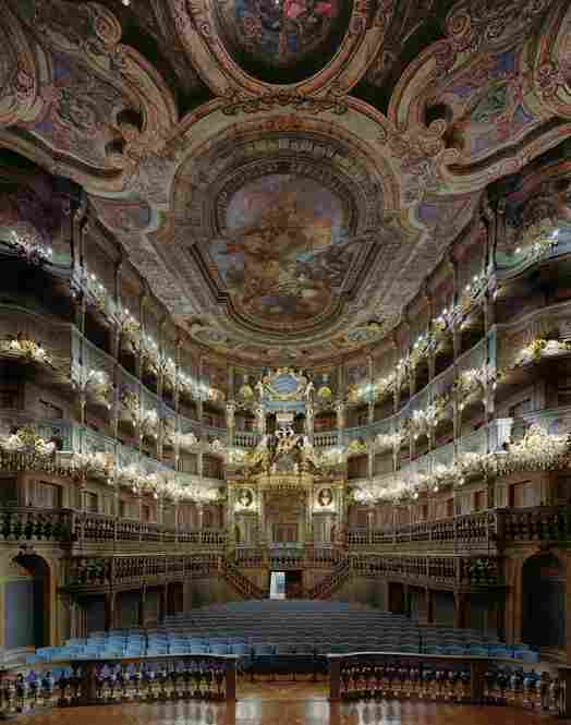 Margravial Opera House, Bayreuth, Germany, 2008