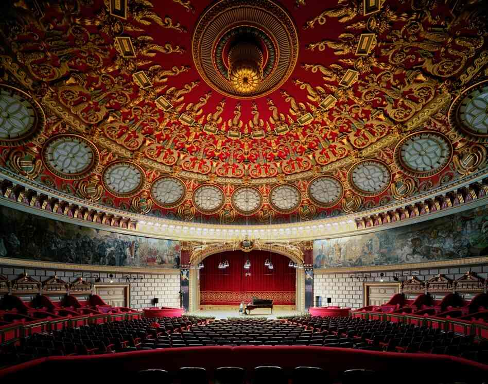 Romanian Antheneum, Bucharest, Romania, 2007