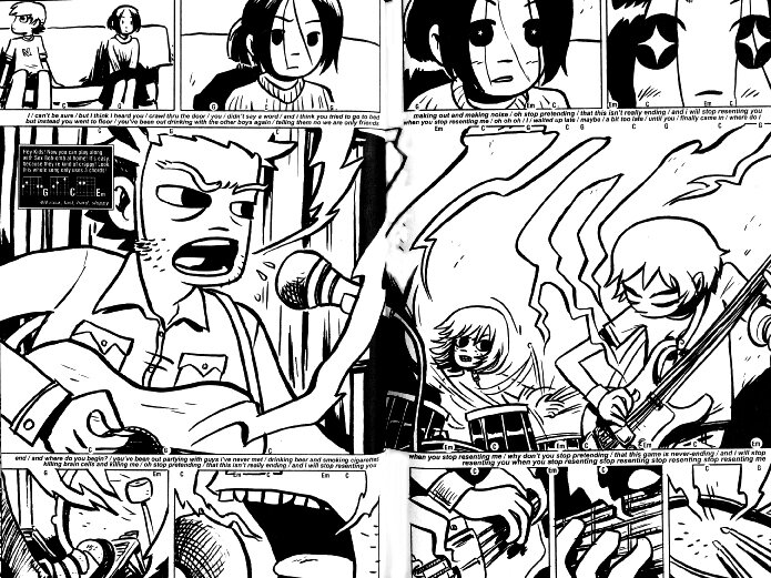 How Scott Pilgrim Rocks Out On Both Page And Screen All Songs