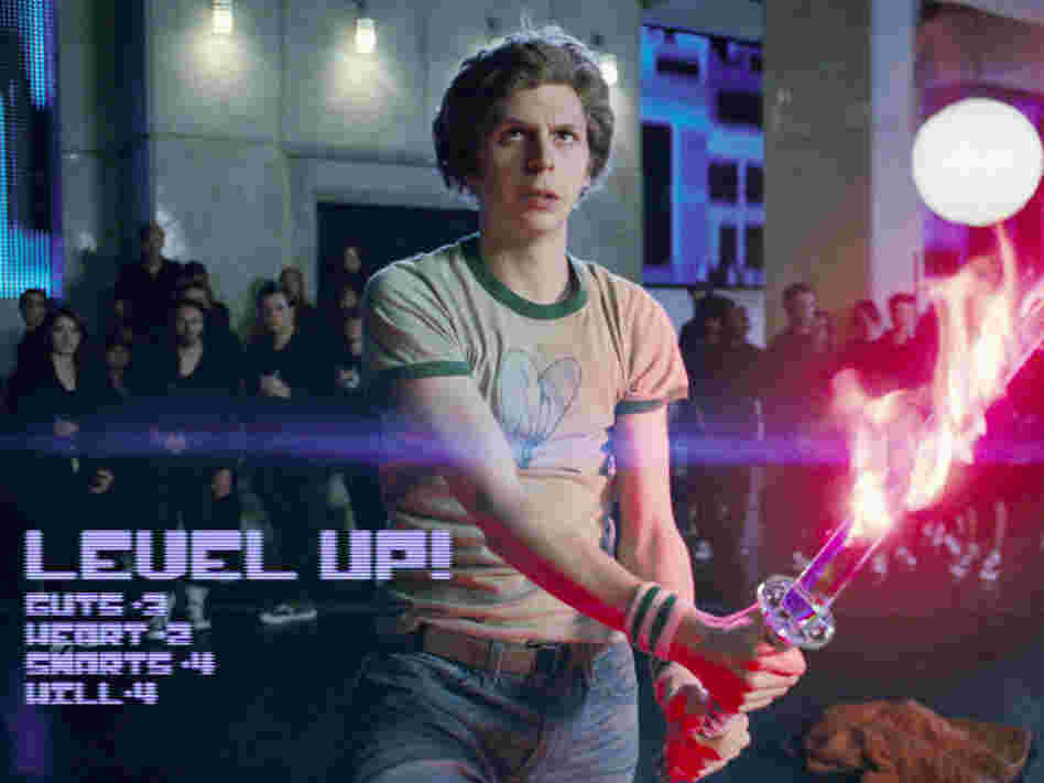 Michael Cera in Scott Pilgrim Vs. The World