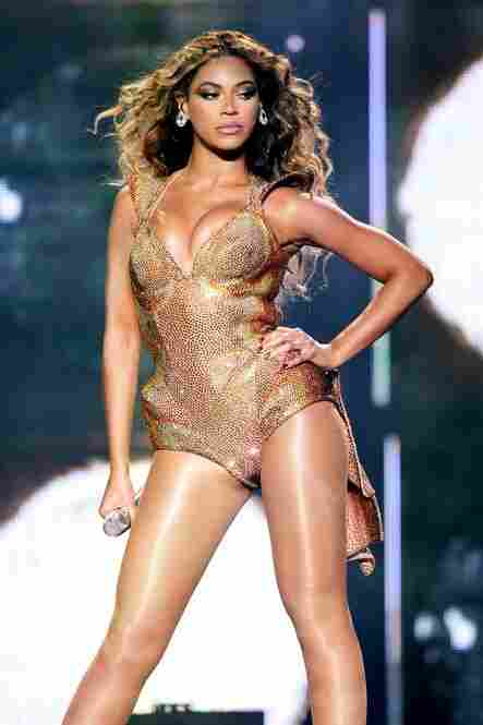 """Beyonce Knowles, as her Sasha Fierce persona on the """"I Am  . . . Sasha Fierce"""" album tour at Madison Square Garden June 21, 2009."""
