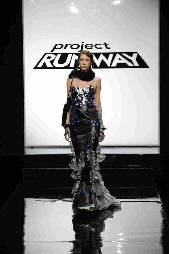 A design from Episode 3 of this season of Project Runway