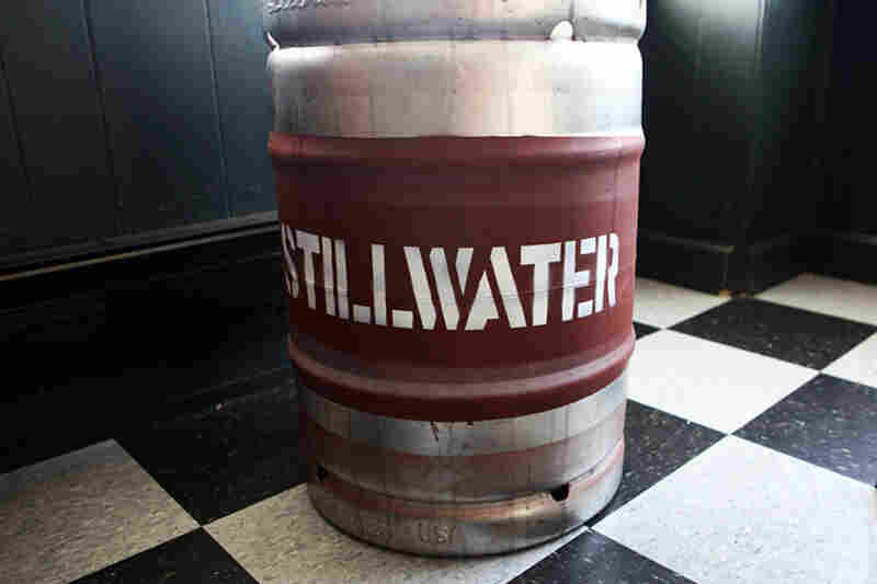 Kegs of Strumke's beer, marketed as Stillwater Artisanal Ales, are ready to roll out. By the end of this year, he expects his beers to be found in 17 cities.