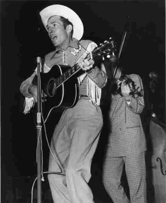 In 1950, Hank Williams began recording as Luke the Drifter, a moral character who sang about the gospel and good deeds. This allowed Hank Williams to go about his business singing songs about drinking, cheating and chasing women.