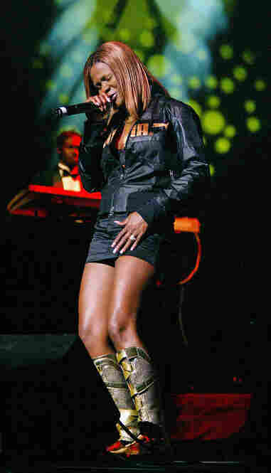 Lady Saw is the most famous woman in dancehall reggae. Her sexually charged, energetic songs are matched by risque performances. But every now and then, she'll perform a ballad or gospel tune and announce beforehand that she is performing the song as Marion Hall (her real name).