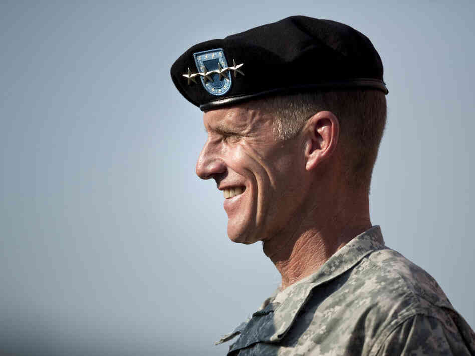 Retirement Ceremony Held For Army Gen. Stanley McChrystal