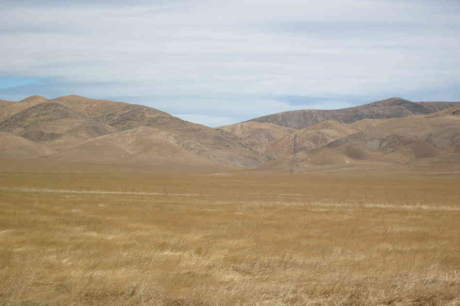 The Panoche Valley, located about 120 miles southeast of San Francisco, may soon be home to one of the nation's largest arrays of photovoltaic solar panels.