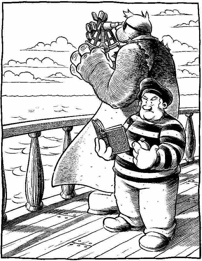 a panel from Set To Sea