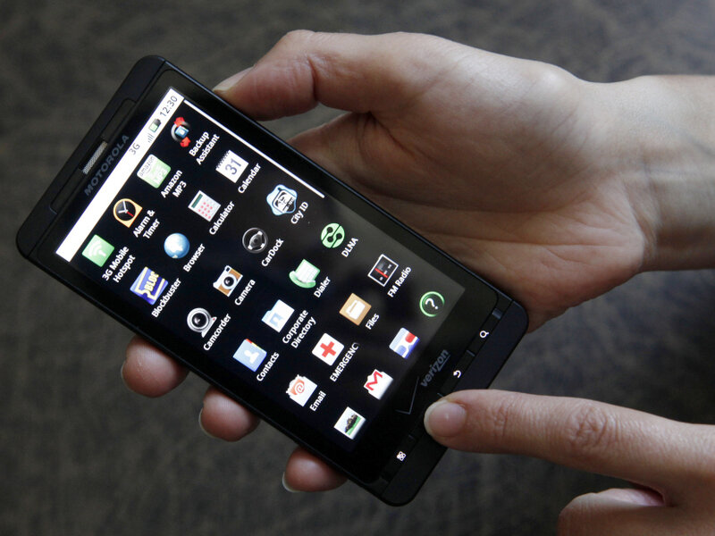 Cell Phone Leads Police To Its Alleged Thief : The Two-Way : NPR
