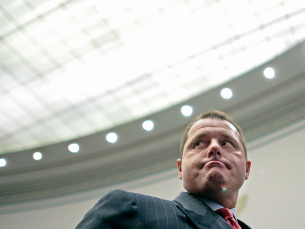 Roger Clemens Testifies On Steroid Use On Capitol Hill