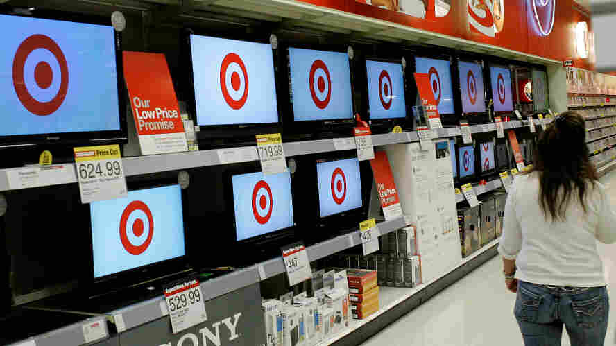 Target TV section