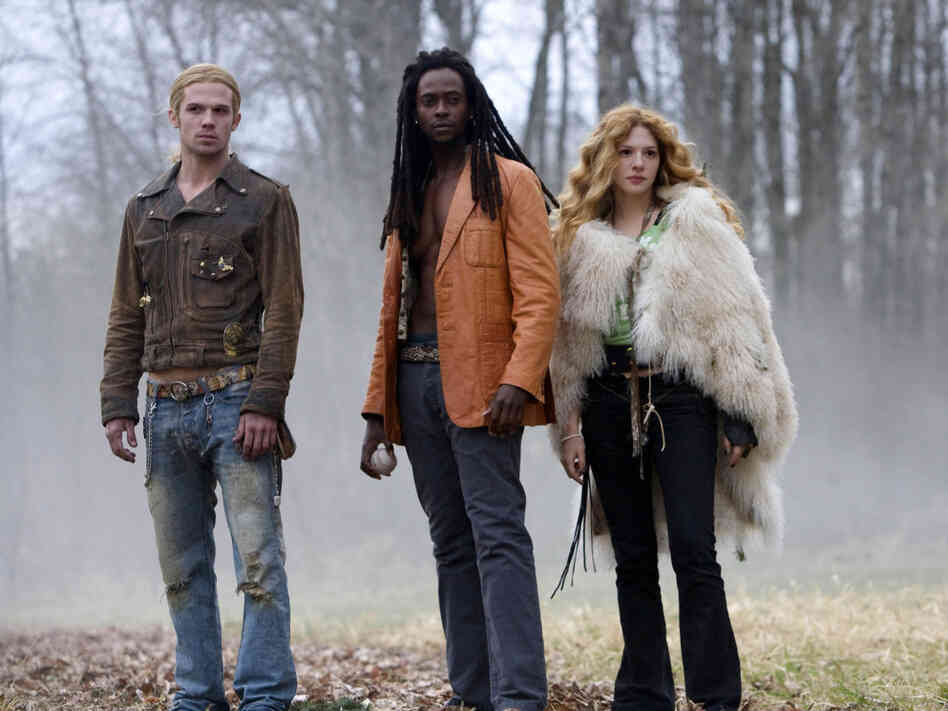 Cam Gigandet, Edi Gathegi and Rachelle Lefevre