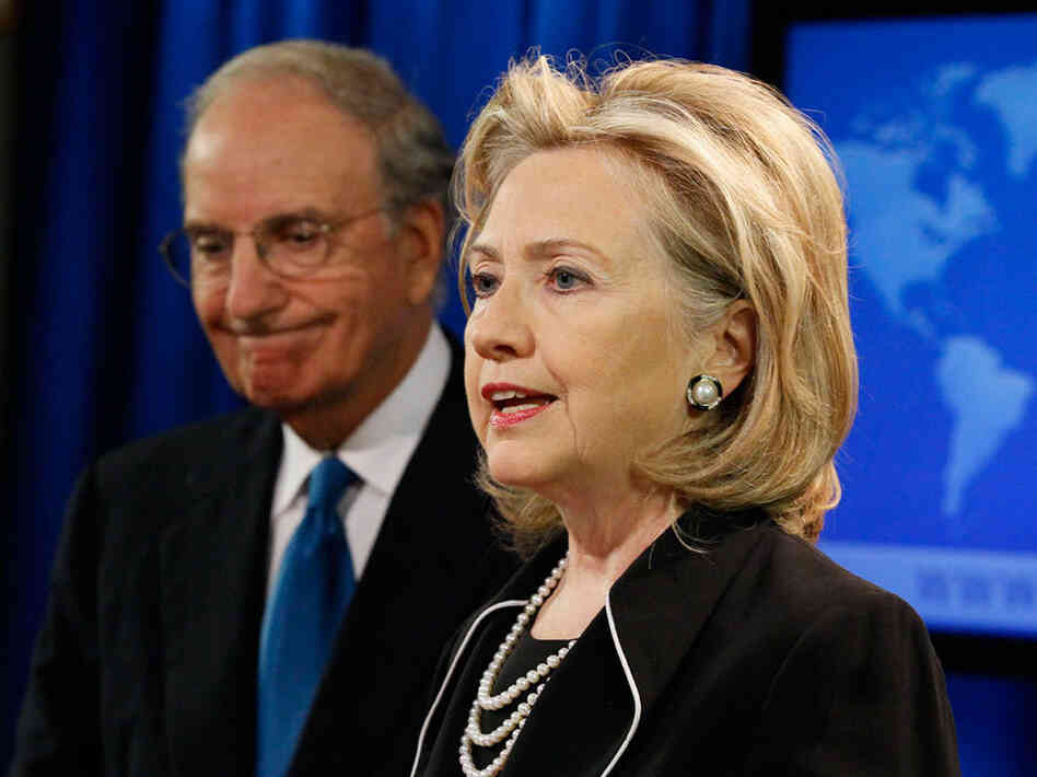 George Mitchell Hillary Clinton