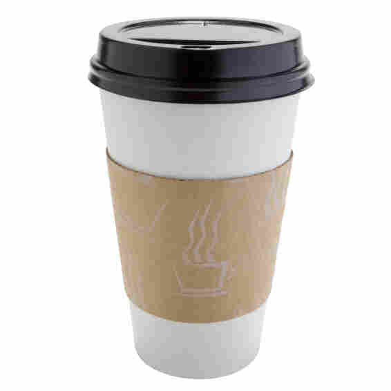 cup of coffee in a paper cup