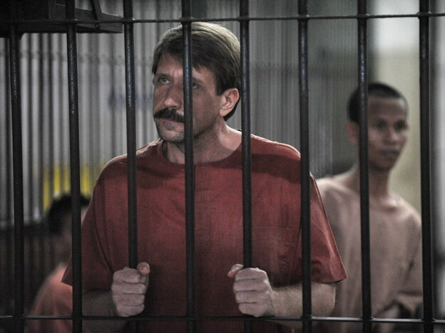 Alleged Russian arms dealer Viktor Bout
