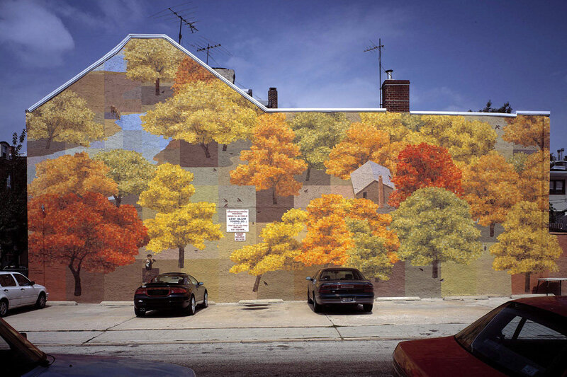 On Philadelphias Walls Murals Painted With Brotherly Love NPR