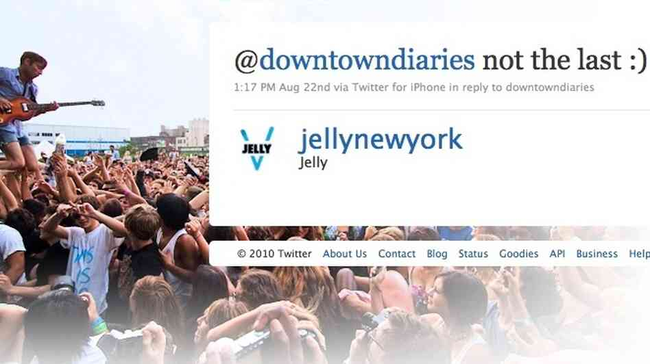 Jelly NYC Twitter