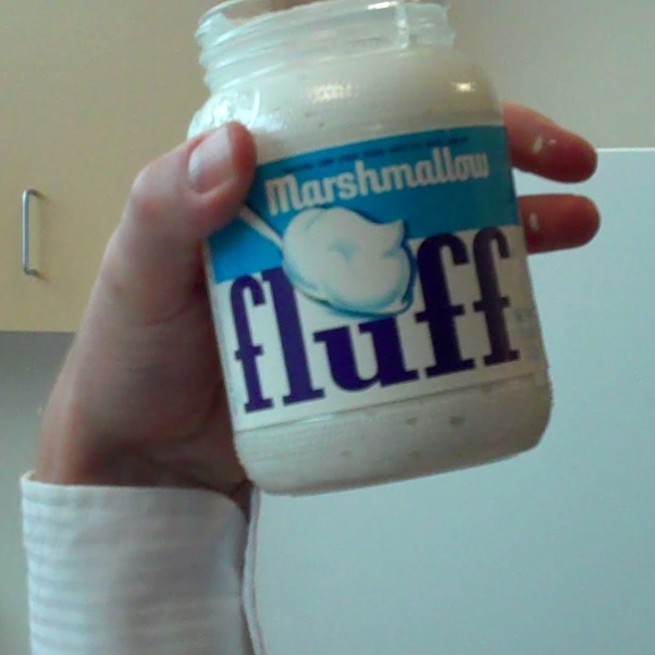 Marshmallow fluff.