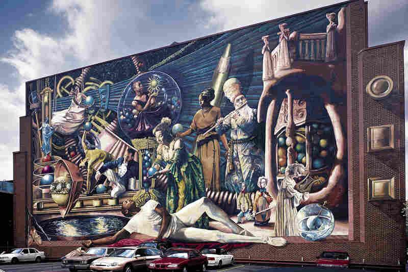 """Philadelphia Muses"" at 1235 Locust St."
