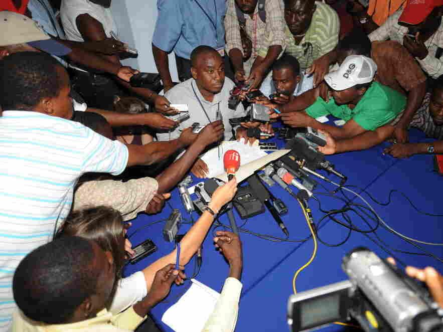 Haitian electoral ouncil spokesman Richa