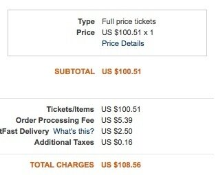 Ticketmaster Makes Changes But Keeps Charging The Same Old