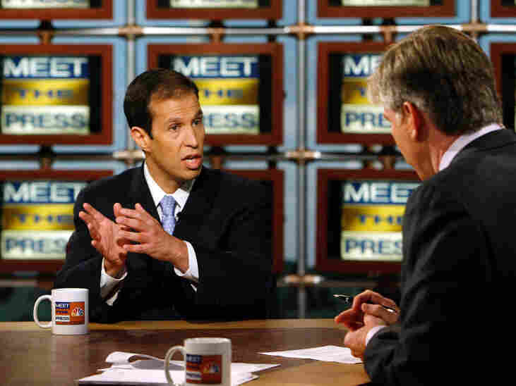 "Former RNC chairman Ken Mehlman on ""Meet The Press"" in August 2006."