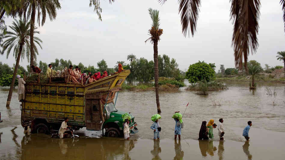 Pakistan Flood Devastation Continues To Grow
