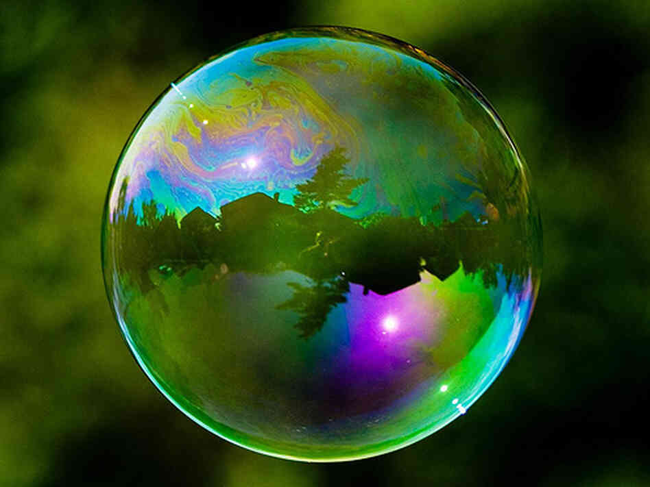 ... Podcast: Wall Street Trickery Inflated The Bubble : Planet Money : NPR Bubble