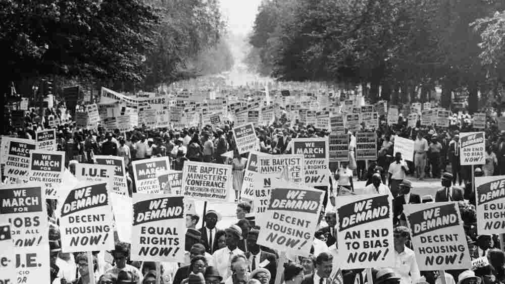 The March On Washington For Jobs And Freedom