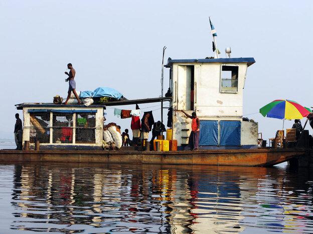 barge Congo River