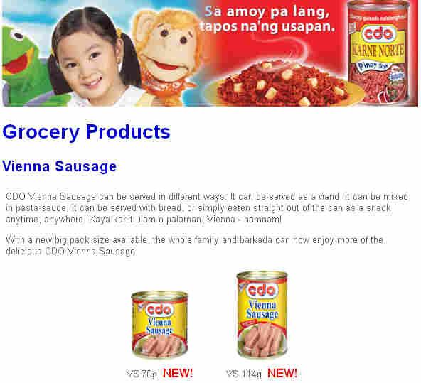 CDO sausage