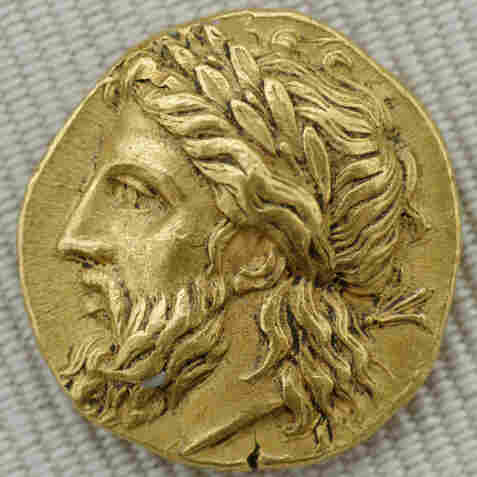 In Greek mythology, Zeus was the king of the gods.
