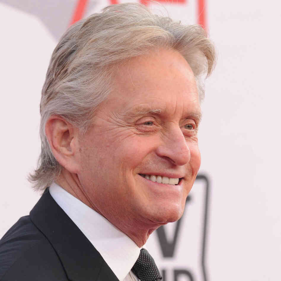 michael douglas cancer letterman. Black Bedroom Furniture Sets. Home Design Ideas