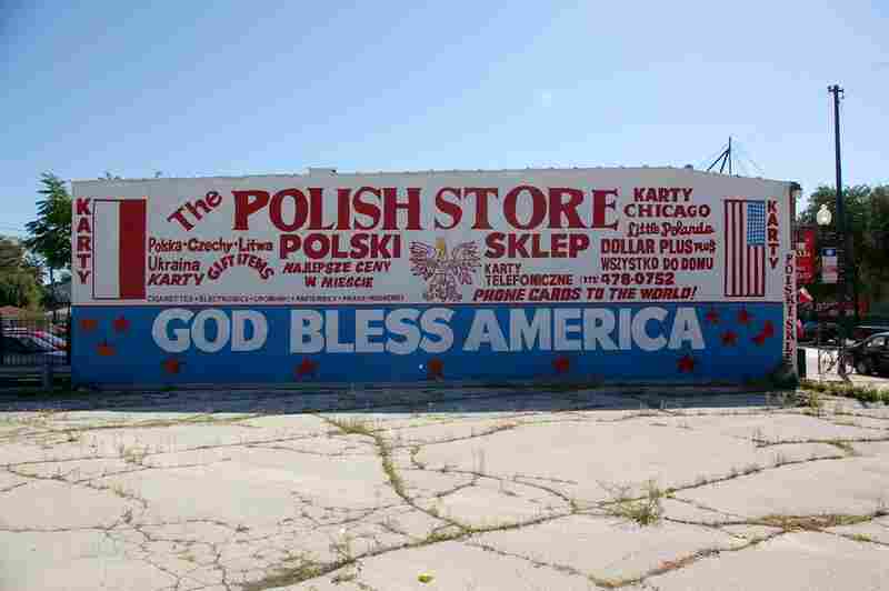 "I live near a great Polish neighborhood, and nobody's got them beat on cool signs. In fact, I don't feature a lot of really new stuff, but this very much follows the ""tradition"" of old school sign-painting. And it's just too bombastic not to show."