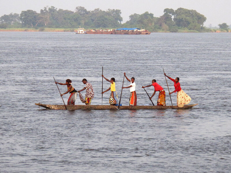 Congo Odyssey, Day Four: For Short Distances, Dugout Canoes