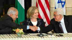 Benjamin Netanyahu, Hillary Clinton, Mahmoud Abbas