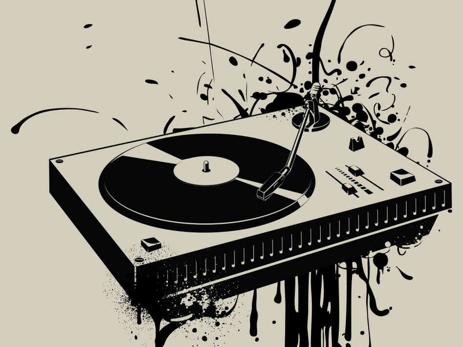 Turntable: courtesy of istockphoto.com