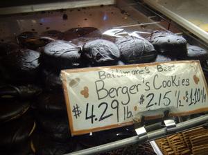 Berger cookies.