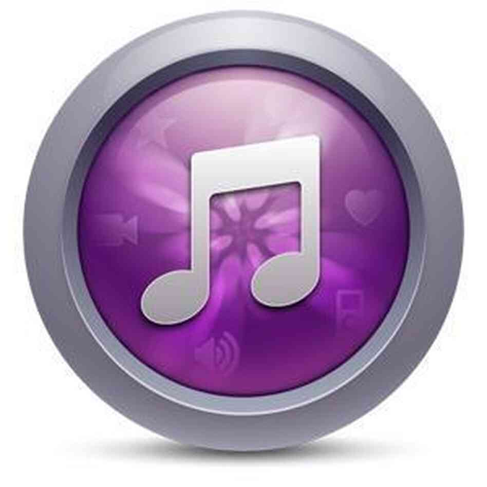 An iTunes 10 alternative icon from Chris Carlozzi