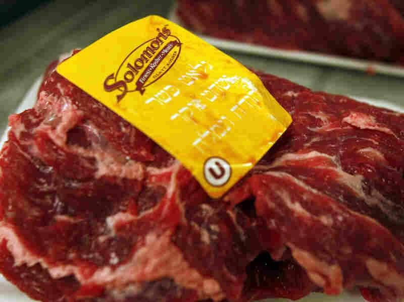 Kosher meat. Wilfredo Lee/AP