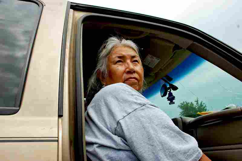 Faith Spotted Eagle, one of the founding grandmothers of the Brave Heart Women's Society, has worked to revive the Isnati coming-of-age ceremony.