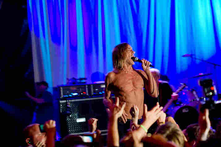 Iggy and the Stooges performed 1973's Raw Power for ATP's Don't Look Back series.