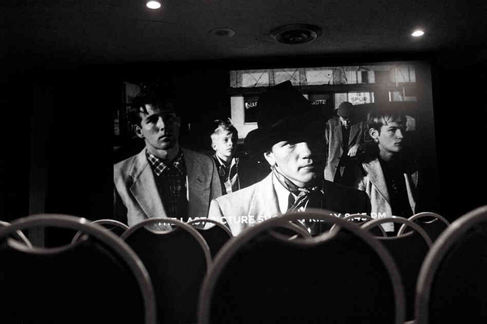 The Criterion Collection curated a series of films at ATP, including 1971's The Last Picture Show.