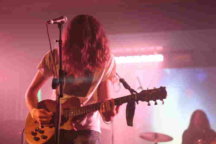 Soaked in echo, Kurt Vile and The Violators' set was especially trippy.
