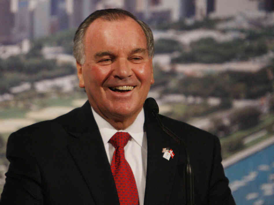 Chicago Mayor Richard Daley, Sept. 30, 2009.