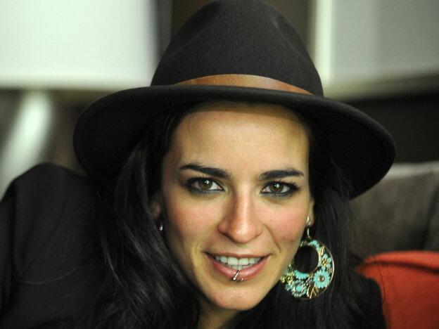 Spanish singer-songerwriter Bebe