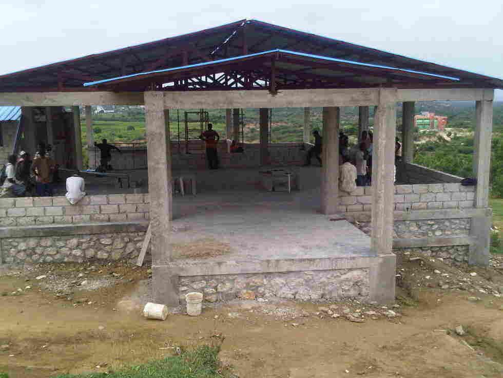 A mango processing center.